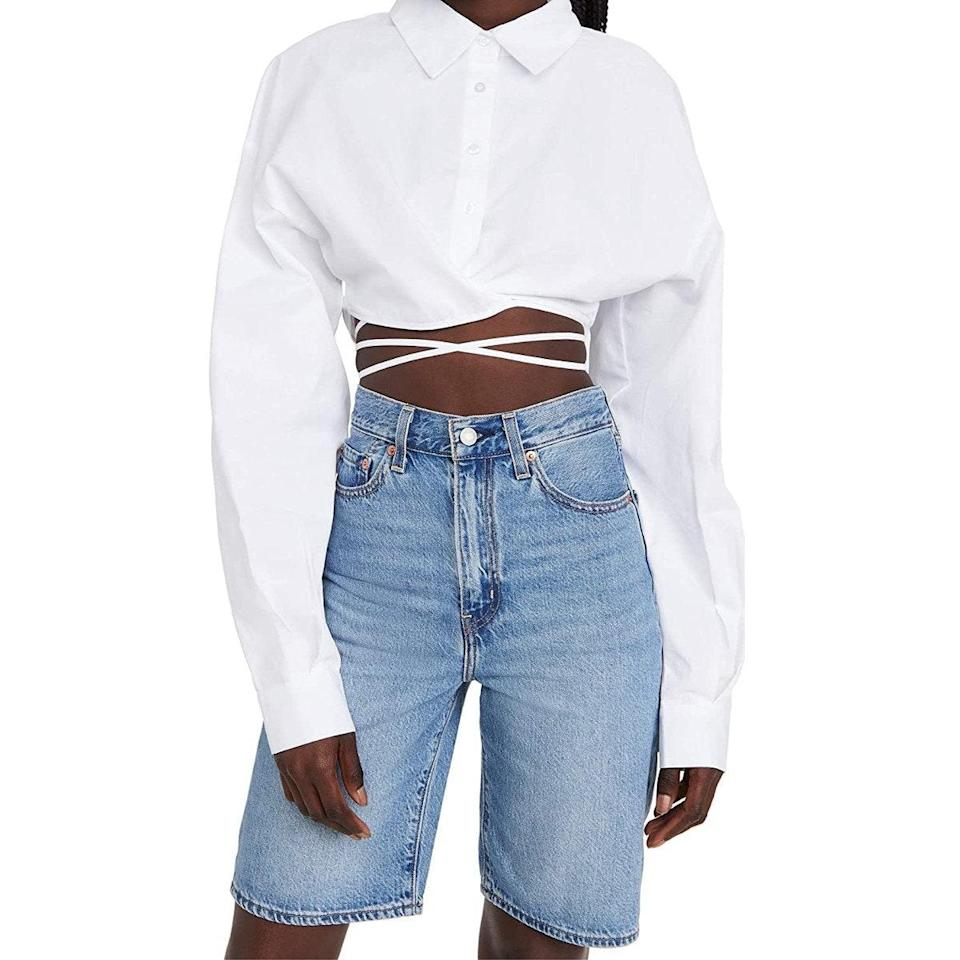 """Last call for midriff flossing! $79, Amazon. <a href=""""https://www.amazon.com/Lioness-Womens-Hideaway-Shirt-X-Small/dp/B0937N59T2/"""" rel=""""nofollow noopener"""" target=""""_blank"""" data-ylk=""""slk:Get it now!"""" class=""""link rapid-noclick-resp"""">Get it now!</a>"""