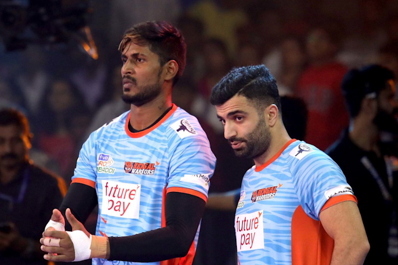 Pro Kabaddi League 2019 Live Streaming: When and Where to Watch Bengal Warriors vs Gujarat Fortunegiants Live Telecast