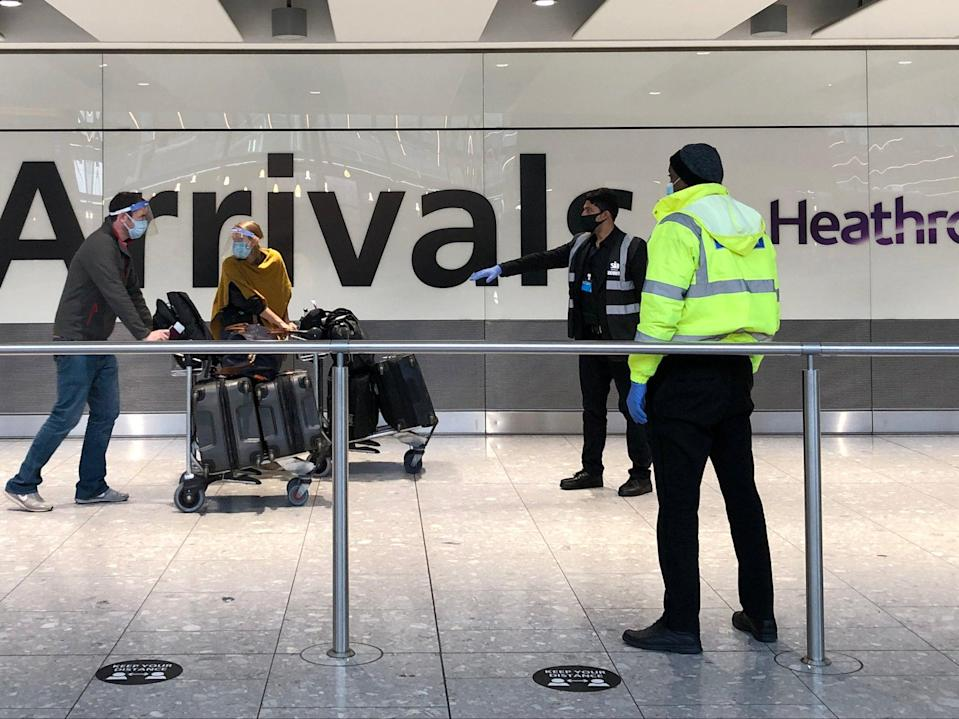 <p>Non-essential international travel is set to resume from 17 May</p> (Getty Images)
