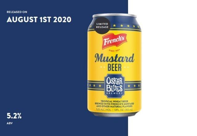 Mix things up with a mustard beer for National Mustard Day