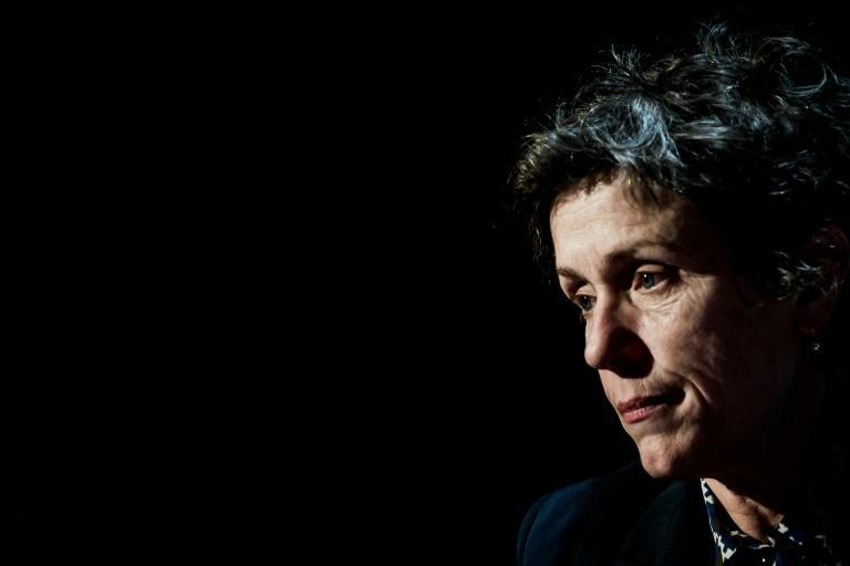 """US actress Frances McDormand stars opposite a cast of non-actors in """"Nomadland"""""""