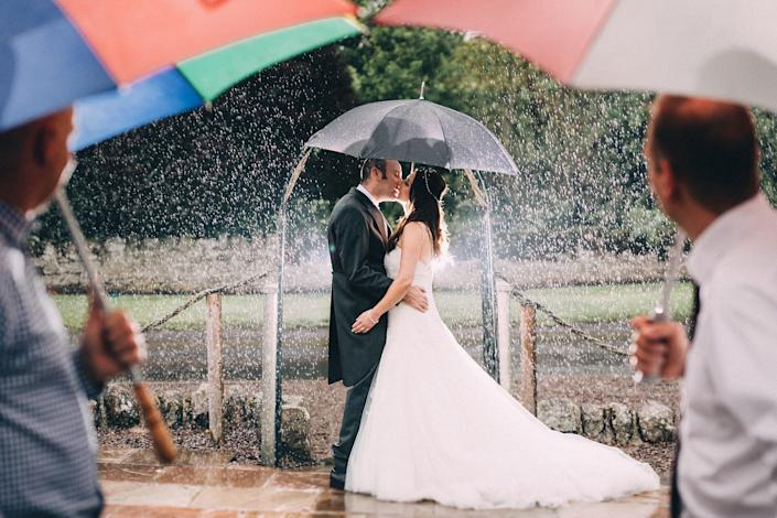 &quot;Rebecca and Paul got married at Doxford Barns, Northumberland on July 22. It rained all day long but it didn't stop us from getting a few shots outside.&quot; --&amp;nbsp;<i>Paul Liddement</i>