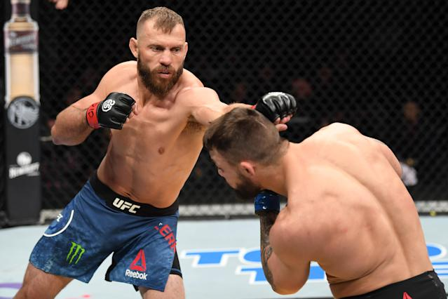 Donald Cerrone now stands alone in UFC history. (Getty Images)
