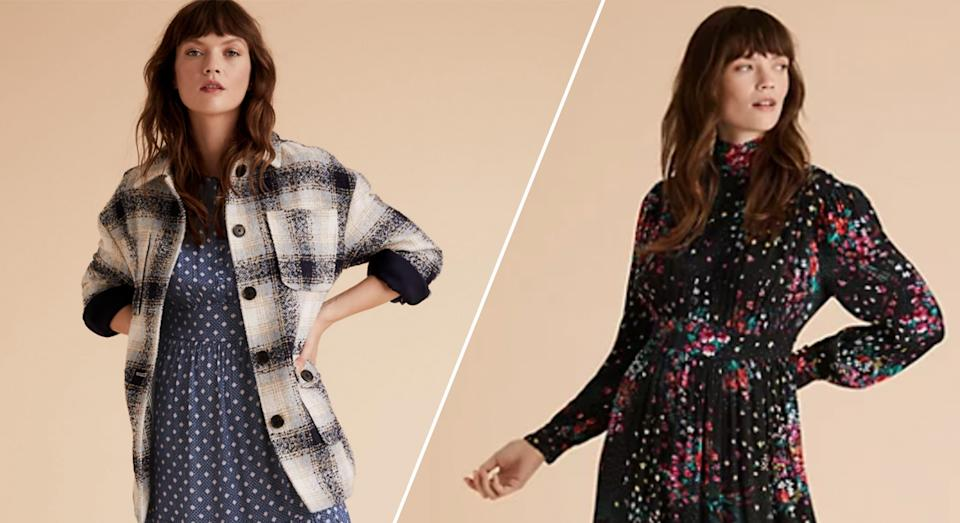 Marks and Spencer has launched 20% off sale on womenswear brands Autograph and Per Una.  (M&S/ Yahoo Style UK)