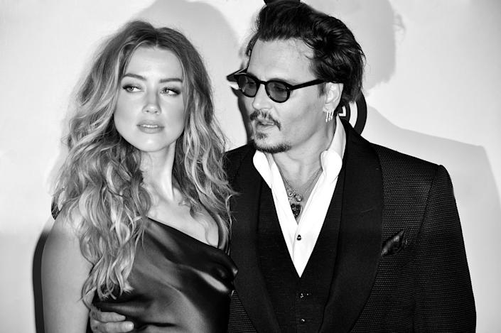 Johnny Depp Changes Amber Heard Tattoo To Something Really Gross