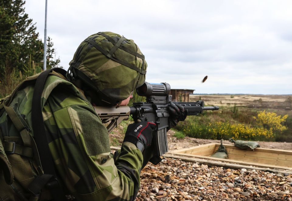 Swedish Armed Forces are reportedly dealing with the threat from Russia