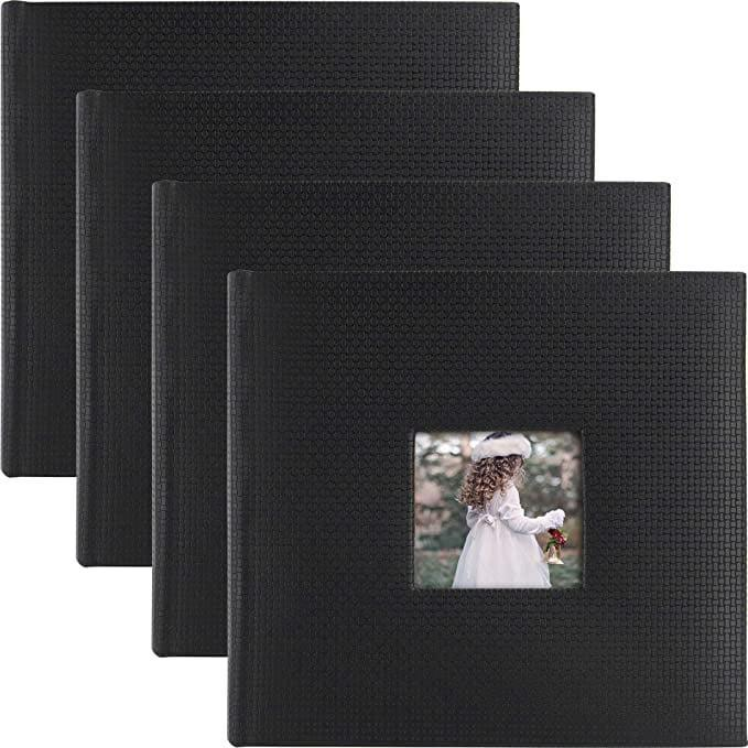 <p>You can never go wrong with the classic <span>Golden State Art Photo Album 200 Pockets (Set of 4)</span> ($43).</p>