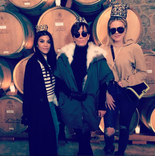 "<p>Kris Jenner has six children, so of course the Mother's Day greetings were rolling in for the momager! ""Happy Mother's Day to the Queen! The boss! The legend that is…. Kris Jenner,"" wrote daughter Khloé of this pic snapped on a trip she and sister Kourtney took with their mom to wine country. (Photo: <a href=""https://www.instagram.com/p/BUFbeyzFnox/"" rel=""nofollow noopener"" target=""_blank"" data-ylk=""slk:Khloe Kardashian via Instagram"" class=""link rapid-noclick-resp"">Khloe Kardashian via Instagram</a>) </p>"