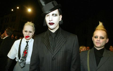 Stop it: Marilyn Manson has never taken the hint - Credit: Getty