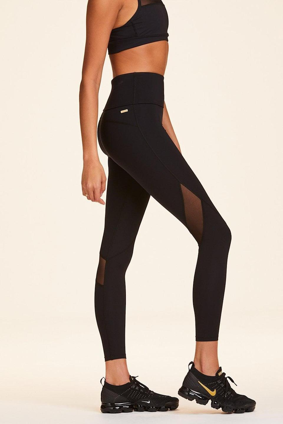 <p>The <span>Alala Compression 7/8 Captain Tight</span> ($125) is designed to improve circulation and aid in muscle recovery. Duckstein told POPSUGAR that these are some of the best leggings Pilates enthusiasts can buy because they don't budge even during difficult poses.</p>