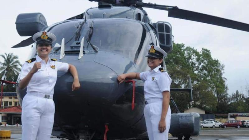 Historic! Two Navy women officers to join frontline warships crew
