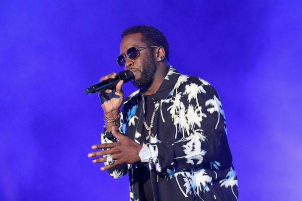 PHOTO: In this April 27, 2019, file photo, Diddy performs onstage at SOMETHING IN THE WATER - Day 2 in Virginia Beach, Va. (Brian Ach/Getty Images for Something in the Water, FILE)