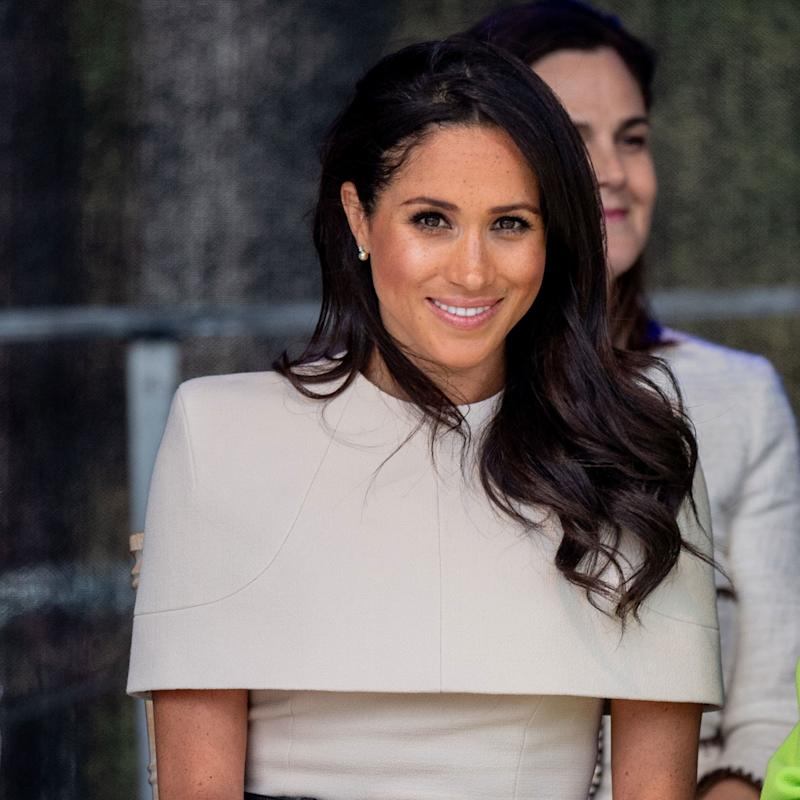 Meghan Markle Puts a Fresh New Spin on the Royal Manicure