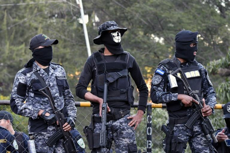 "Police officers belonging to the anti-riot ""Cobra"" unit in Honduras are refusing to enforce a curfew put in place by the government, raising tensions in Tegucigalpa"