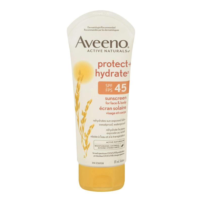 Aveeno Active Naturals PROTECT + HYDRATE™ Sunscreen Lotion SPF 45