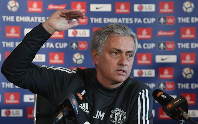 "Jose Mourinho has told his Manchester United players to ""grow up"" as he took fire at his under-performing squad and claimed they face a serious challenge to stop Manchester City from dominating if their rivals keep spending. Reading from a page of prepared notes in an extraordinary rant that drew comparisons with Rafael Benitez's infamous ""facts"" press conference as Liverpool manager in 2009, Mourinho launched an impassioned defence of his reign in the wake of Tuesday's humiliating Champions League exit to Sevilla and insisted he would not walk away. Over the course of one remarkable 12½-minute answer, Mourinho catalogued United's failures – or what he termed ""football heritage"" – in Europe since their last appearance in the Champions League final in 2011 and also listed their struggles domestically, compared to City, since the club's last Premier League title success in 2013 before declaring: Midfielder Nemanja Matic and striker Romelu Lukaku were the only players who had delivered consistently all season and that ""many Sevilla players"" would walk into his United side. The challenge of trying to topple City was similar to the task he faced overhauling Barcelona with Real Madrid but warned at the Bernabeu he possessed ""a nucleus of players of a really high level"". His squad must ""grow up"" and match the ""high expectations"" of fans. United could remain ""side by side"" with City if their rivals stop spending but otherwise City will be ""difficult"" to catch. Ed Woodward, United's executive vice-chairman, was ""on exactly the same page"" and recognised the huge job at hand and need to spend. ""In seven years with four different managers, once not qualifying for Europe, twice out in the group phase and the best was the quarter-final, this is football heritage (of United),"" the United manager said ahead of Saturday night's FA Cup quarter-final against Brighton & Hove Albion, which has assumed even greater importance in the week of the Sevilla debacle. ""And if you want to go to the Premier League, the last victory was 12/13 and in the four consecutive seasons (since) United finished seventh, fourth, fifth and sixth. So in the last four years the best was fourth. This is football heritage. ""I told [before Sevilla] we are not one of the top teams, not one of the favourites to win [the Champions League]. The boss wraps up a passionate 12-minute message to #MUFC fans during his press conference… pic.twitter.com/JRaaBMpdcd— Manchester United (@ManUtd) March 16, 2018 ""I cannot tell you with different words while I am still in competition. I cannot be in competition, go there and say, 'We have no chance'. I couldn't tell you that. ""We went out to a side that's more successful than Manchester United in [the] last seven years in Europe. Do you think they didn't have any players who could play in my team? In Sevilla, there are many players who would play in my team. ""So the fans, they read what people write, they listen to what people say. The people with a lot of ideas I used to call them ideologists or idiots – they can be both. ""You cannot expect me to say, 'This and that player, they have to do better'. I prefer to say that Matic and Lukaku are performing at a high level since day one until the last match. I cannot tell you the ones that are not performing. ""The fans have to be sad with being out and the players have to learn how to cope with that level of expectation and that level of pressure. Sevilla left Old Trafford stunned on Tuesday night following the Spanish side's 2-1 victory Credit: Getty Images ""They have to survive and when they survive they become stronger. An easy life, and the fans not upset, and no critics, that's not good. ""If you want to make a real top team with top mentality, you need to grow up and the best way is to have this kind of feeling. ""I don't want the fans to have low expectations, I want the fans to have high expectations because I want the players to have expectations, too."" Asked if the challenge to haul back City, whom they trail by 16 points in the Premier League, was bigger than the one he faced with Real – whom he led to beat Barcelona to the Spanish title in his second season – Mourinho said: ""Probably similar, but obviously Real Madrid had the nucleus of players of a really high level, and because it's not easy for me to speak about my players [at United], it's easy to speak about the players who are not mine anymore. Man Utd: What exactly were you expecting when you hired Jose Mourinho? ""You see, for example, where are the players that don't play in Real Madrid now and left the club to play, or because the club didn't want to keep them? [Raul] Albiol, [Jose] Callejon, they are top players for Napoli. ""The United players that left the club last season? See where they play, how they play, if they play. ""If the clubs who are in a better situation than us stop investing and we invest, we are side by side. If they keep investing the same or more than us, it's difficult. It's as simple as that. It's difficult."" Jose Mourinho career win ratio with selected teams Despite his obvious concerns about the threat of City and United's prospects of competing with Europe's other best sides such as Real, Barcelona and Bayern Munich, Mourinho insisted he was up for the challenge. ""I'm always confident,"" he said. ""I won the Champions League with Inter [Milan]. I did not win the Champions League with Real Madrid or Barcelona, or with Ronaldo or Messi. I never played with Messi and when I was Ronaldo's manager we didn't manage to win the Champions League. We can and we'll fight for it again, no doubts. ""There is a quote that I like, 'In every wall there is a door'. I am not going to run away or disappear or cry because I heard a few boos. Is Jose Mourinho the man to solve the Paul Pogba puzzle? ""The amazing feeling for me is that I am exactly on the same page as the owners, as Mr Woodward, Mr [Richard] Arnold [the group managing director]. ""We agree on everything – on the investments, that we have what we have, the investments that we are going to do will be season after season. We are exactly on the same page, so life is good. I have an amazing job to do."""