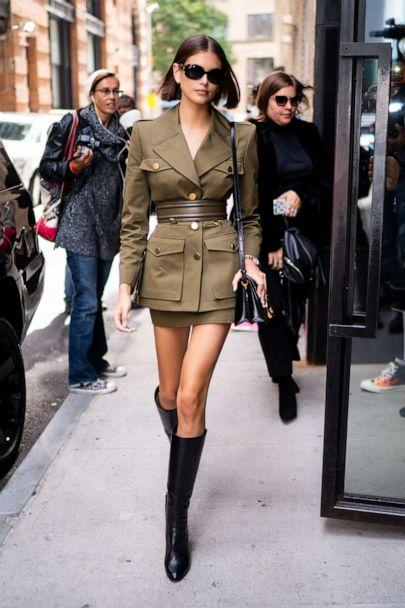 PHOTO: Kaia Gerber walks in Tribeca on Oct. 10, 2019 in New York City. (Gotham via Getty Images)