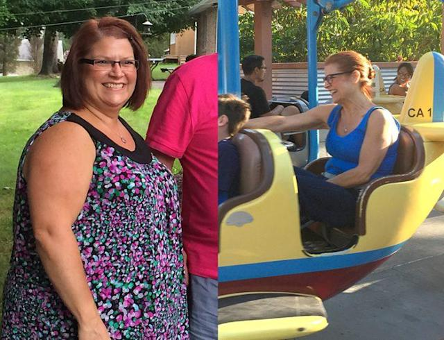 Pam Horrock's best weight loss moments involved doing things with her son that she wasn't able to do before.