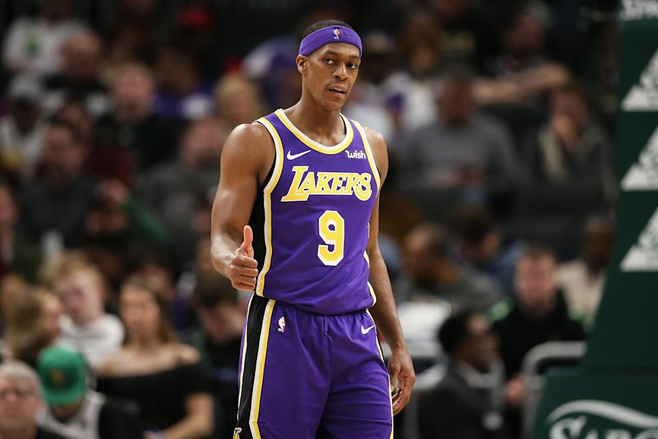 Rajon Rondo  (Photo by Dylan Buell/Getty Images)