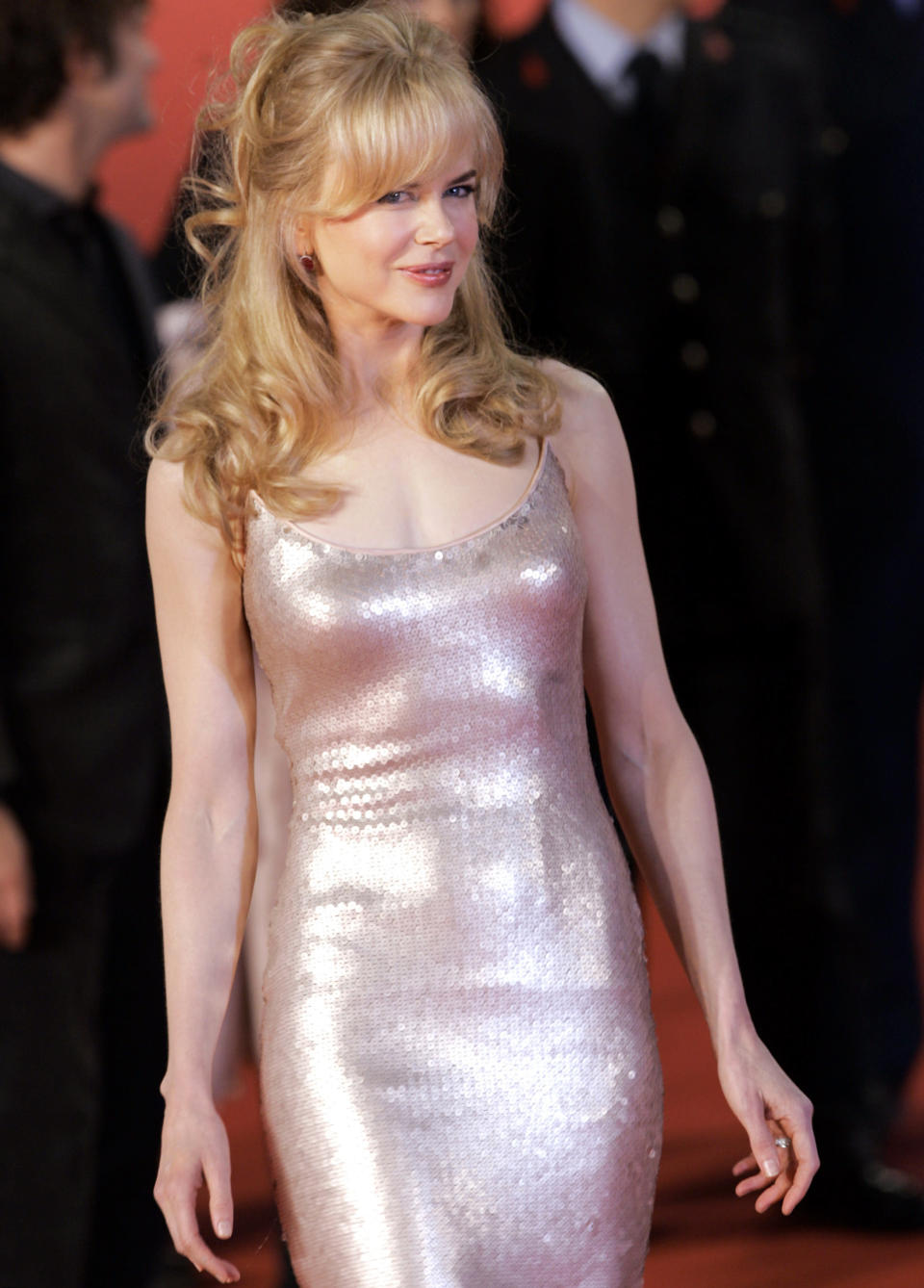 """FILE - Actress Nicole Kidman arrives at the premiere of """"Fur"""", for the first Rome Film Festival on Oct. 13, 2006. The dress is among 55 L'Wren Scott creations going on sale this week at Christie's in London. (AP Photo/Pier Paolo Cito, File)"""