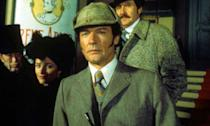 <p>During his Bond years, the late Roger Moore played the British sleuth in the 1976 American made-for-television movie <em>Sherlock Holmes in New York</em>. It follows Holmes as he pursues archenemy Moriarty to the Big Apple where he's carried out a bank robbery and kidnapped Irene Adler. </p>