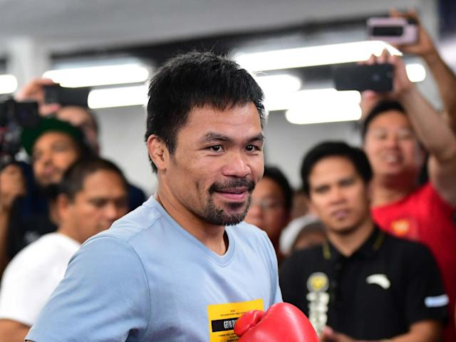 Pacquiao could fight McGregor next: AFP/Getty