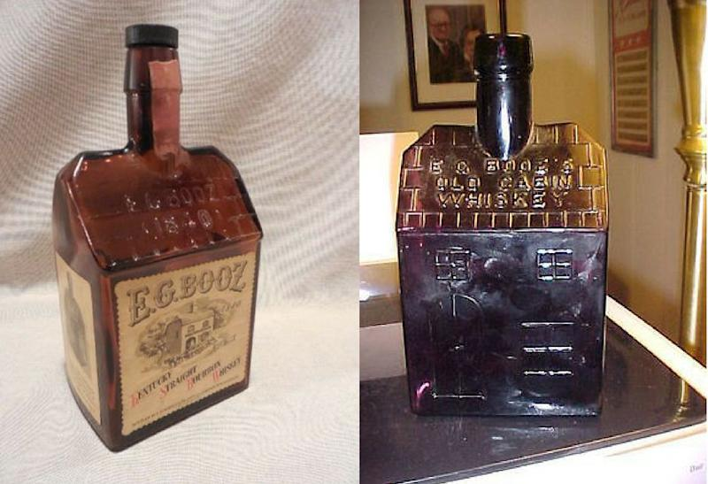 """Vintage bottles from Booz's distillery are available on <a href=""""http://www.ebay.com/cln/betail/e-c-boozs-old-cabin-whiskey/73157526014"""" target=""""_blank"""">eBay</a>."""