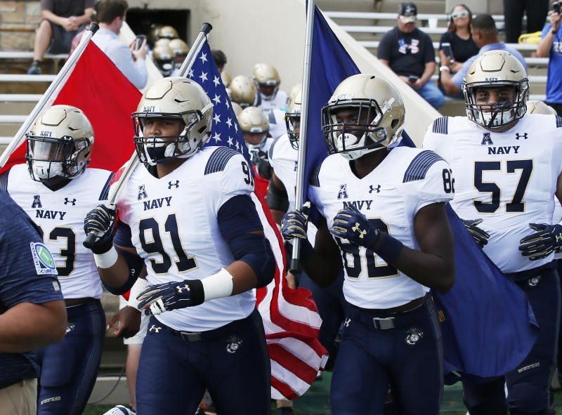 Son of Navy offensive coordinator undergoes successful heart transplant