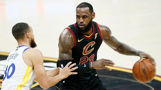 As LeBron James considers what move to make this offseason, former NBA player Brian Scalabrine shares why James' focus may be on joining a team that will better his chances of beating the Warriors.