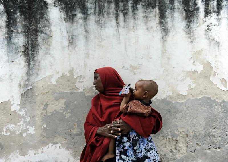 Somalia is the worst place to be a mother, just below the Democratic Republic of Congo and the Central African Republic, according to Save the Children (AFP Photo/Tony Karumba)