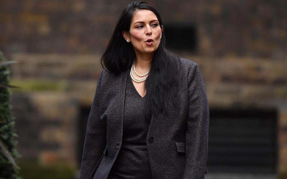 Priti Patel said she was 'unapologetic in my determination' to remove convicted foreign criminals - Leon Neal/Getty Images Europe
