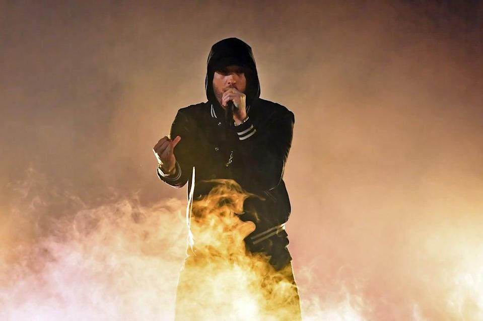 Eminem (Getty Images for iHeartMedia)