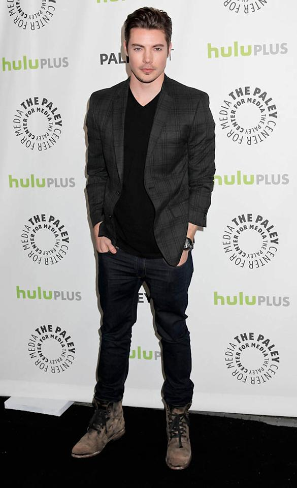 "Josh Henderson attends the 30th Annual PaleyFest featuring the cast of ""Dallas"" at Saban Theatre on March 10, 2013 in Beverly Hills, California."