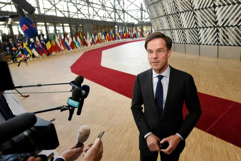Dutch Prime Minister Mark Rutte was attending an election debate in Eindhoven