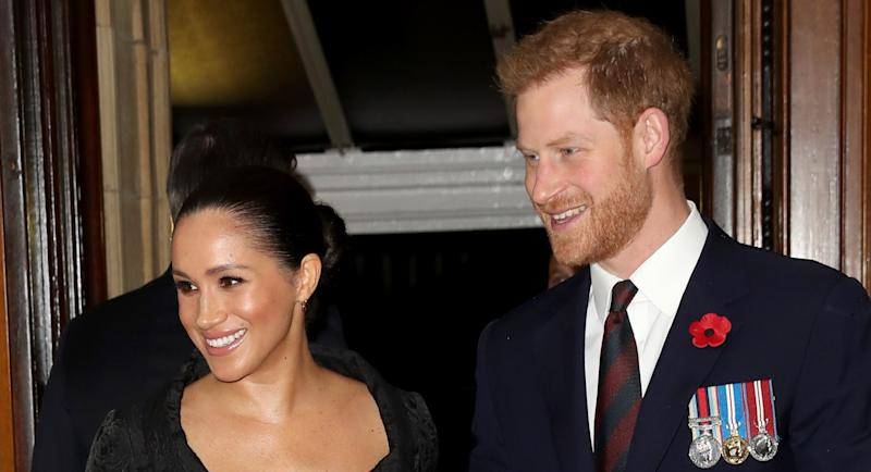 Meghan Markle and Prince Harry's top aide has resigned as their private secretary [Image: Getty]