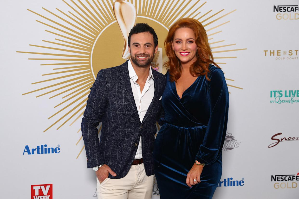 GOLD COAST, AUSTRALIA - MAY 26: Cam and Jules from MAFS attend the 2019 TV WEEK Logie Awards Nominations Party at The Star Gold Coast on May 26, 2019 in Gold Coast, Australia. (Photo by Chris Hyde/Getty Images)