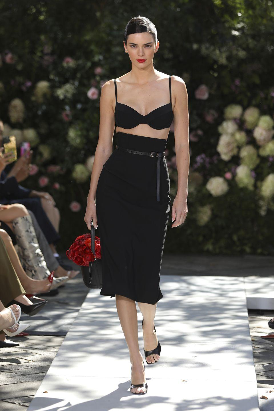 """<p>The theme for Michael Kors' SS22 collection was """"urban romance"""", where the designer essentially wrote a love letter to New York City and a celebration of the """"rebirth"""" of fashion with the return of a real-life catwalk show.</p><p>""""I think we're all ready to focus on the simple, powerful pleasures of love — romantic love, love for one another, love for the places that sustain us, which in my case is New York City,"""" he said. """"It's a special thrill to celebrate the resilience and rebirth of the city and the fashion industry with a live runway show. This collection pays<br>homage to everything I love about spring in the city — the energy, the mix of people, the romance and laid-back glamour.""""</p>"""