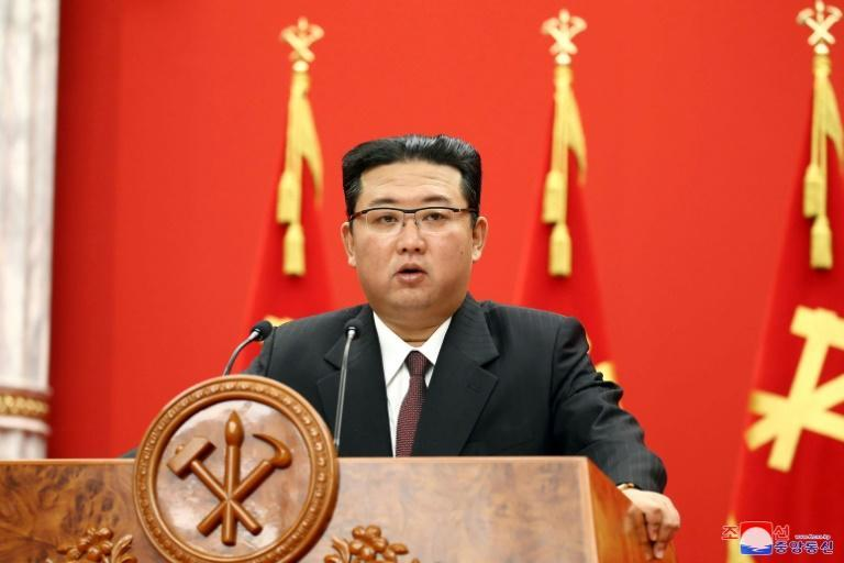 Kim Jong Un will be on trial in Tokyo -- figuratively speaking -- as the head of the North Korean government (AFP/STR)