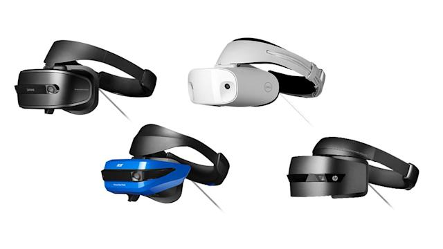 PC manufacturers including Acer, Dell, HP and Lenovo are working on Windows Mixed Reality-powered headsets.