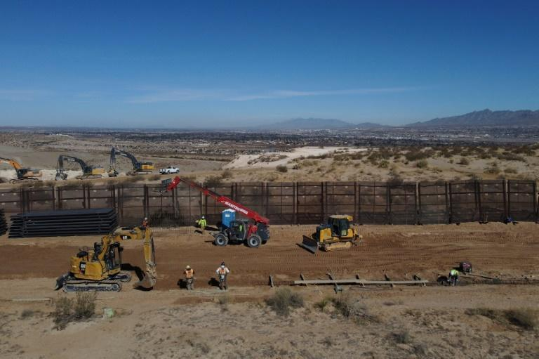 Former US president Donald Trump built a new wall on parts of the US-Mexico border to keep out undocumented immigrants