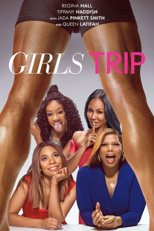 "<p>Invite your gal pals over, grab some sweet and salty snacks, and turn on this spicy flick. Queen Latifah, Jada Pinkett Smith, Regina Hall, and Tiffany Haddish play four lifelong friends who venture to New Orleans for the annual Essence festival. Be prepared for drinking, dancing, and randy romance. <br></p><p> <a class=""link rapid-noclick-resp"" href=""https://www.amazon.com/Girls-Trip-DVD-Larenz-Tate/dp/B0741XJCRL/ref=ice_ac_b_dpb?s=movies-tv&ie=UTF8&qid=1514483161&sr=1-1&keywords=girls+trip+dvd+movie+2017&tag=syn-yahoo-20&ascsubtag=%5Bartid%7C10055.g.3243%5Bsrc%7Cyahoo-us"" rel=""nofollow noopener"" target=""_blank"" data-ylk=""slk:STREAM NOW"">STREAM NOW</a> </p>"
