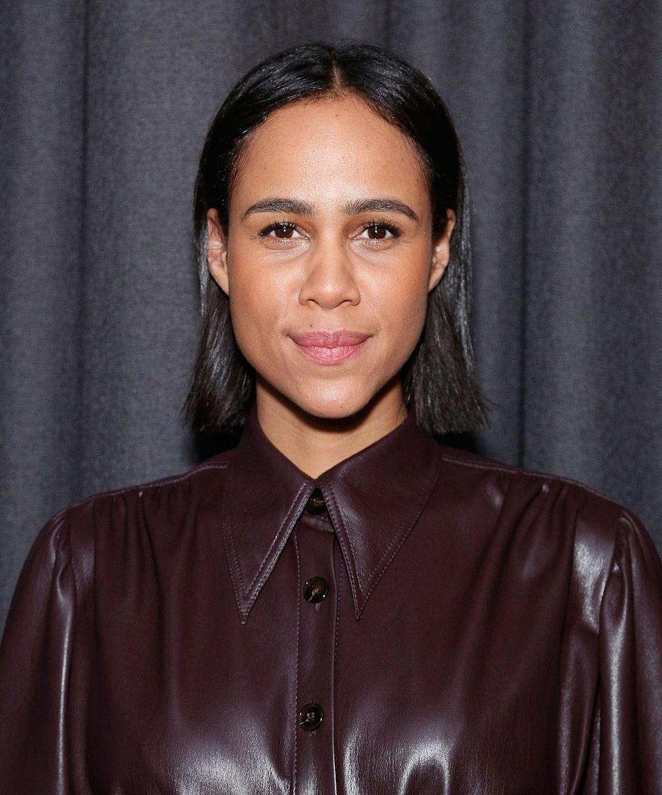 <p>Sleek and straight is the name of the game for Zawe's shoulder-skimming bob.</p>