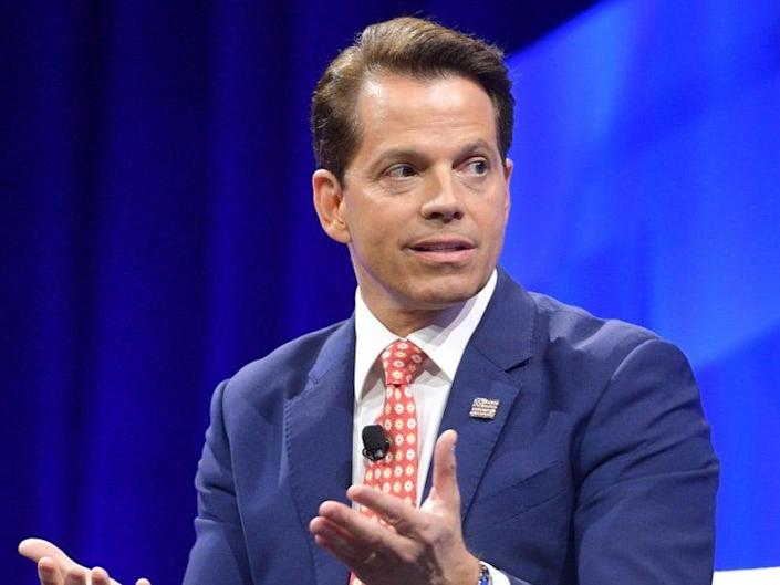 <p>'The Mooch' lasted 10 days in the White House</p> (Getty Images for Vanity Fair)