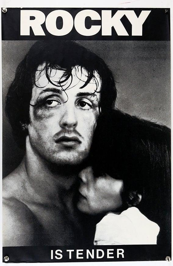 A Rocky poster from the collection (Courtesy of Ewbank's Auctions)
