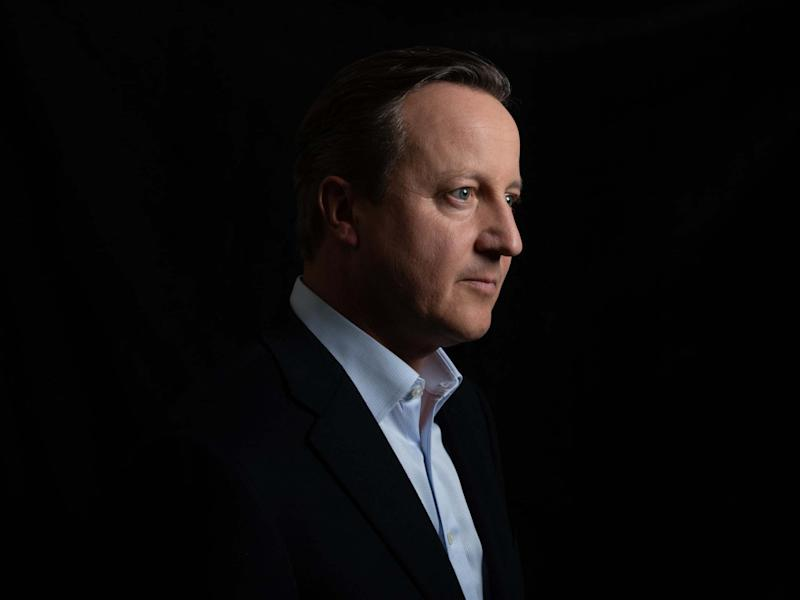 David Cameron's 'For The Record' reportedly earned its author an £800,000 advance: BBC/Richard Ansett
