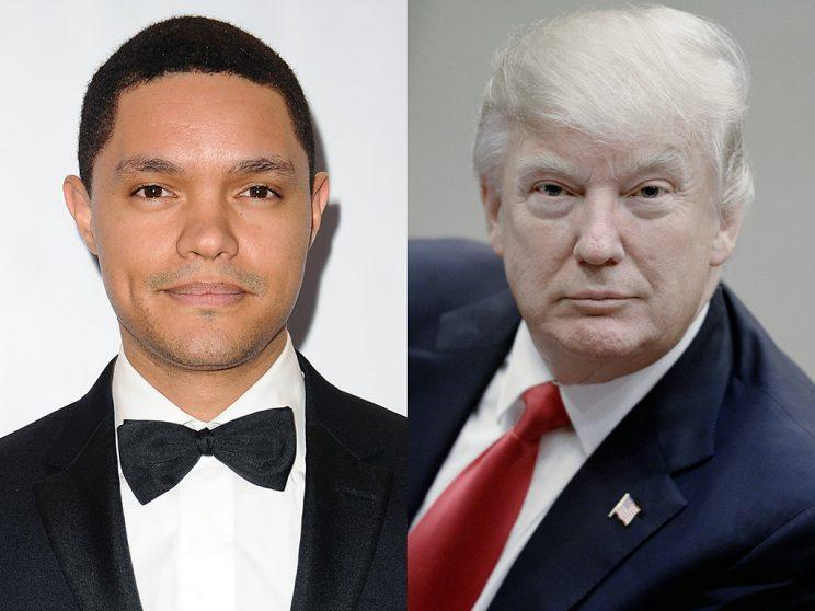 Trevor Noah hasn't been pulling punches on Donald Trump. (Photo: Getty Images)