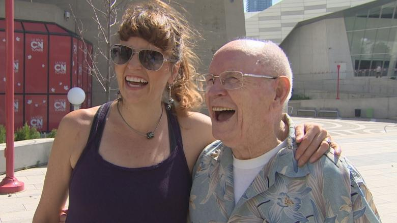 Turning 97? Why not celebrate by dangling 116 storeys above Toronto like Harry Whalen