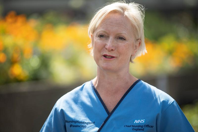 Chief Nurse Ruth May (Photo: PA)