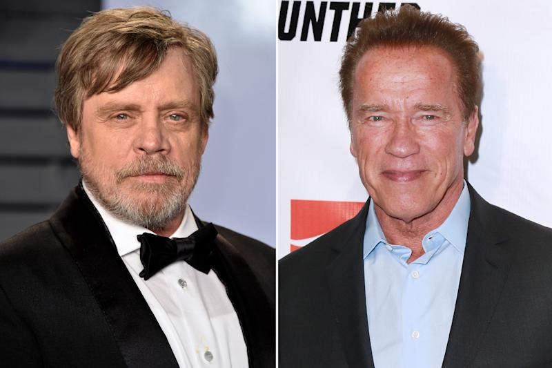 Mark Hamill told Arnold Schwarzenegger to 'lose his accent'