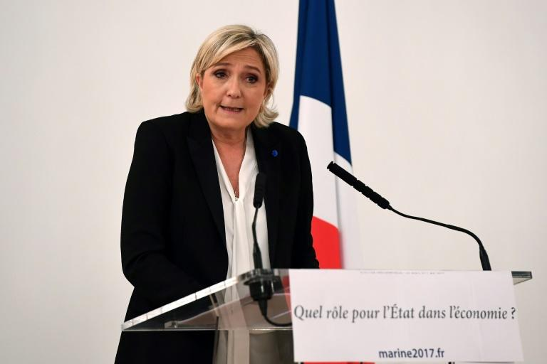 Marine Le Pen had her European parliamentary immunity stripped for tweeting images of Islamic State atrocities